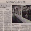 """Rejected Show Displays Art for Art's Sake"" article"
